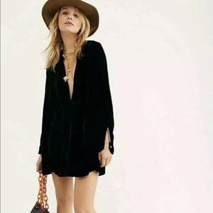 NWOT Free People x CP Shades Jacey Velvet Dress